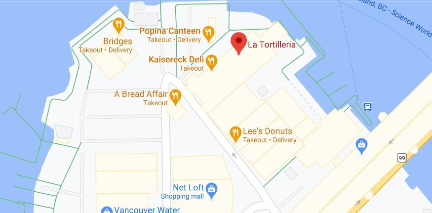 La Tortilleria Location