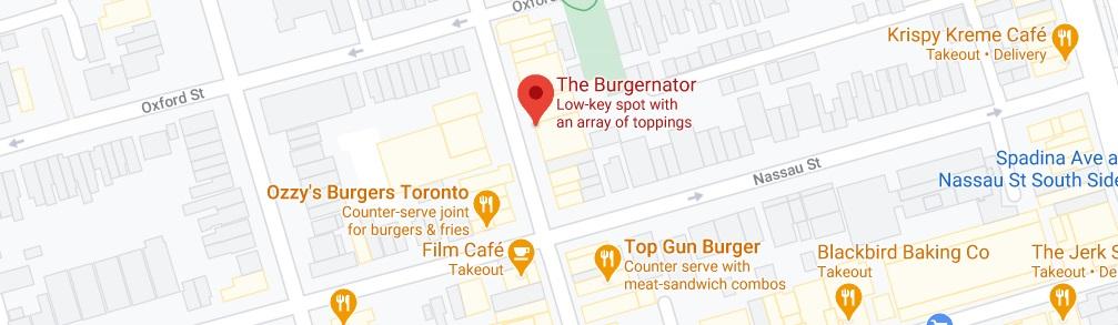 The Burgernator Location