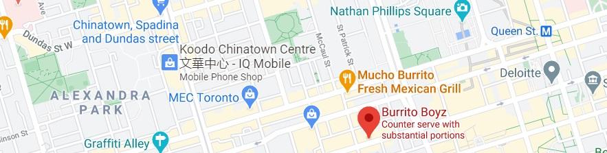 Burrito Boyz Location