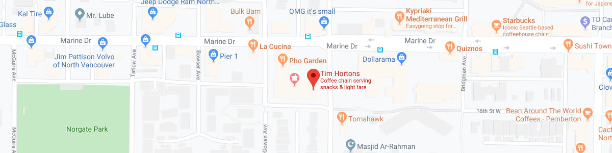 Tim Hortons location