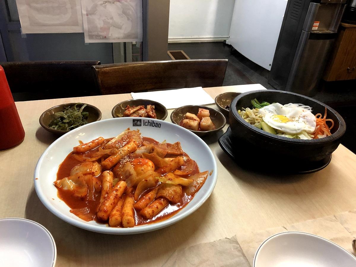 Imonay Korean Restaurant Food