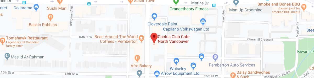 location Cactus Club Café