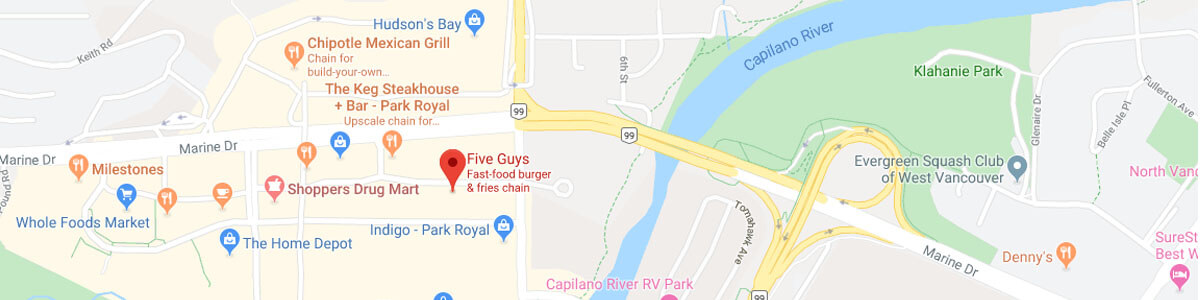 Five Guys location