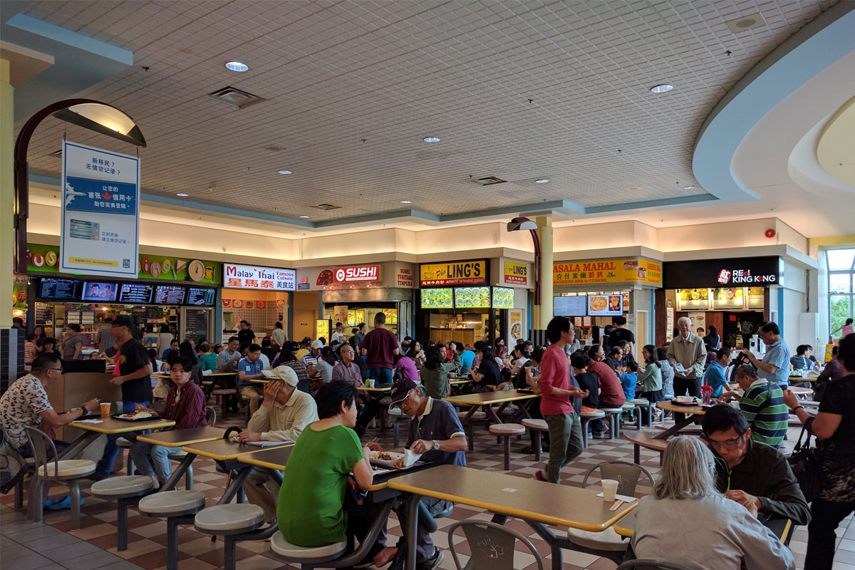 Food Court at First Markham Place