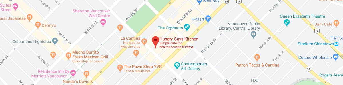 Hungry Guys Kitchen location