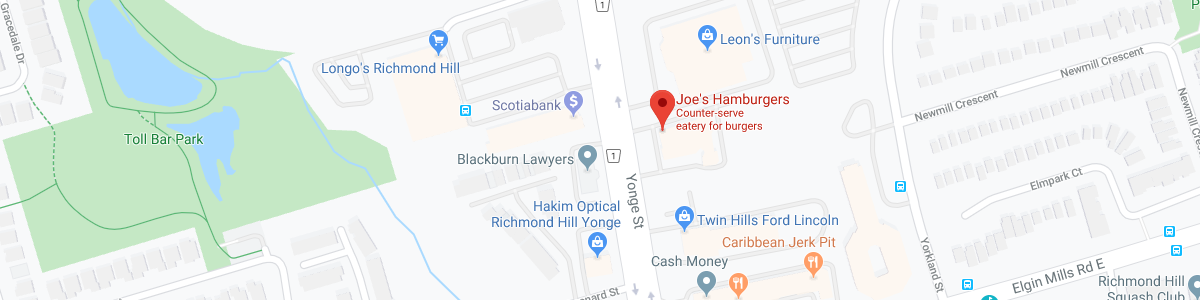 Joe's Hamburgers location