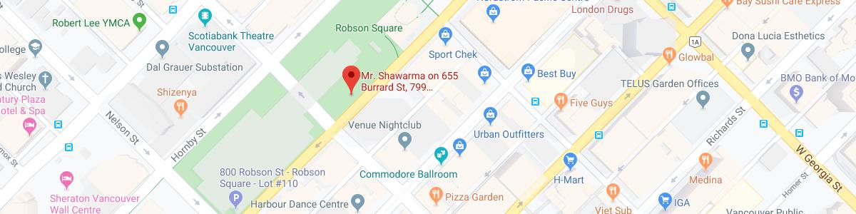 Mr Shawarma Food Truck location