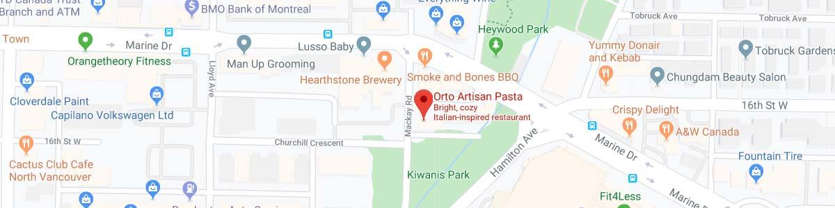 location Orto Artisan Pasta