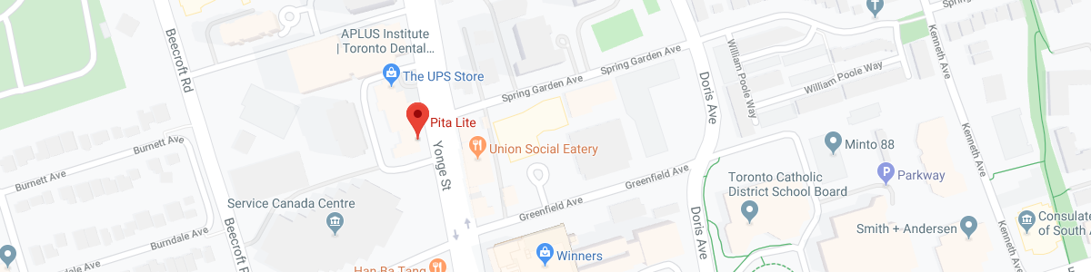 Pita Lite location