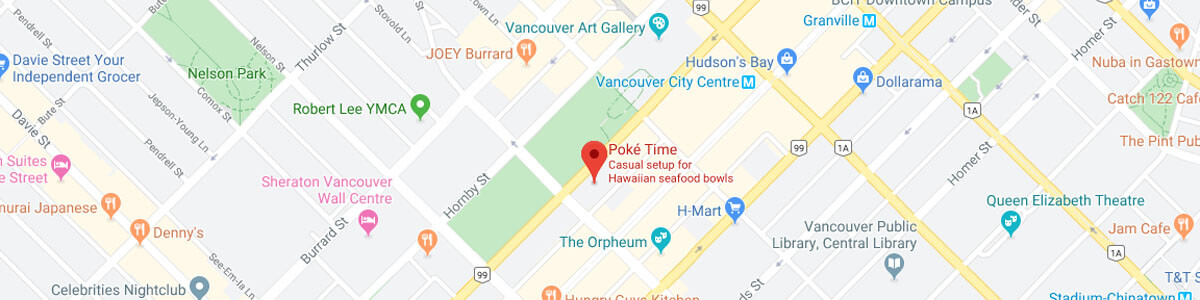 Poke Time Robson location