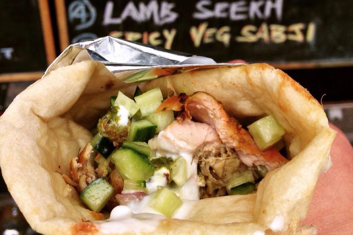 Soho Road - Naan Kebab