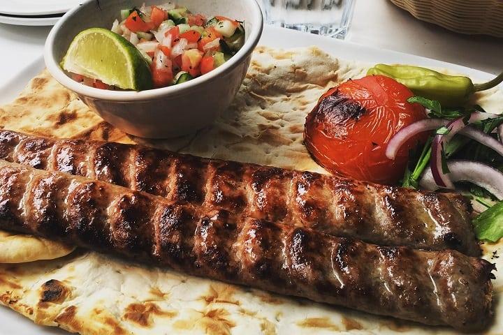 Cazba Restaurant food
