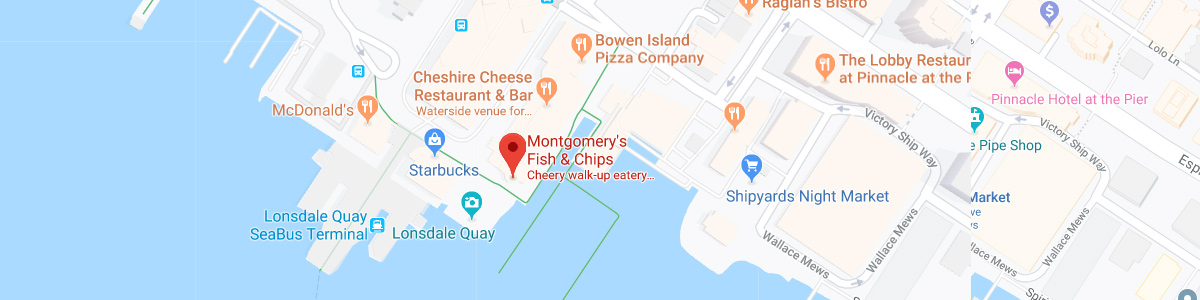 Montgomery's Fish & Chips Location