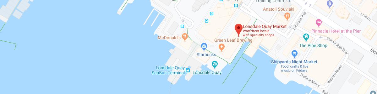 Lonsdale Quay Market location