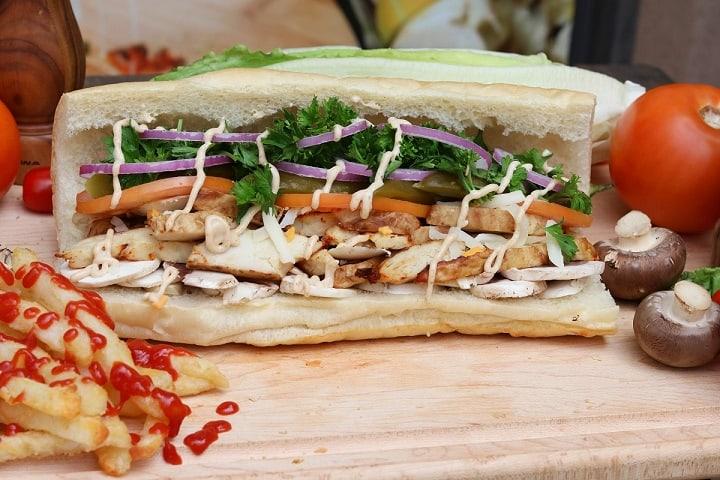 Haida Sandwich food