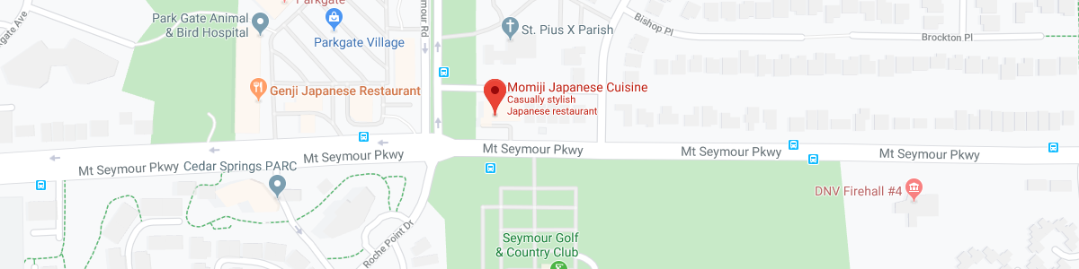 Momiji Japanese Restaurant location