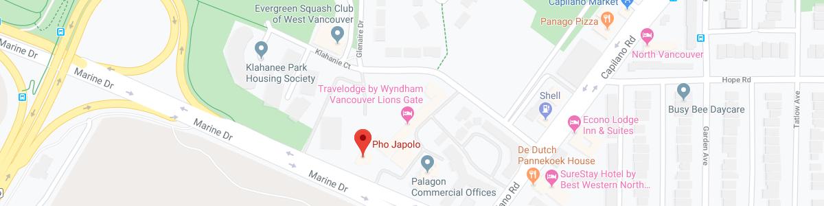 Pho Japolo location