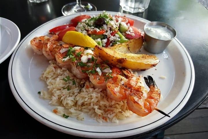 Anatoli Souvlaki food