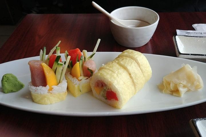 Deep Cove Osaka Sushi food