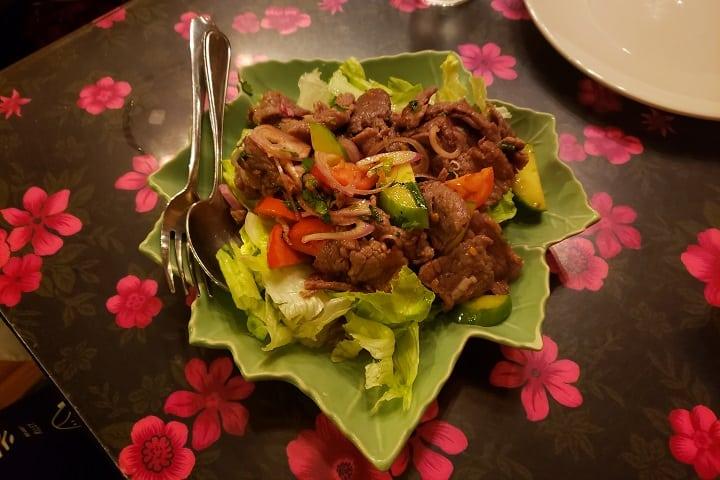 Thai Pudpong food