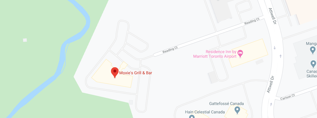 Moxie's Grill & Bar (Opening hours: 6 AM - 1 AM)