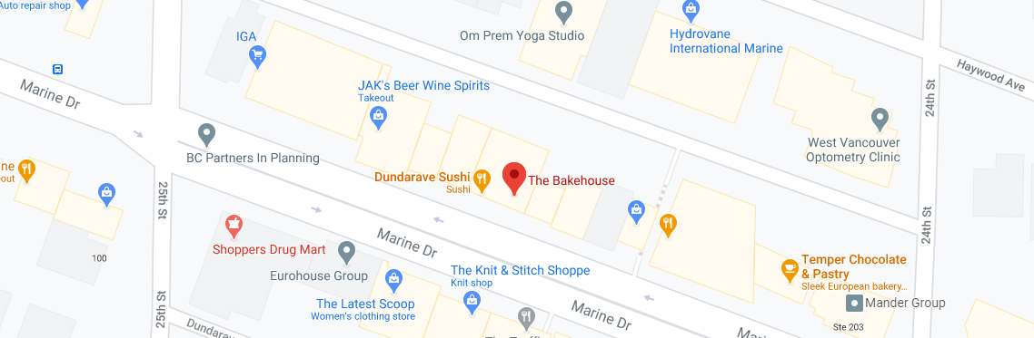 The Bakehouse in Dundarave