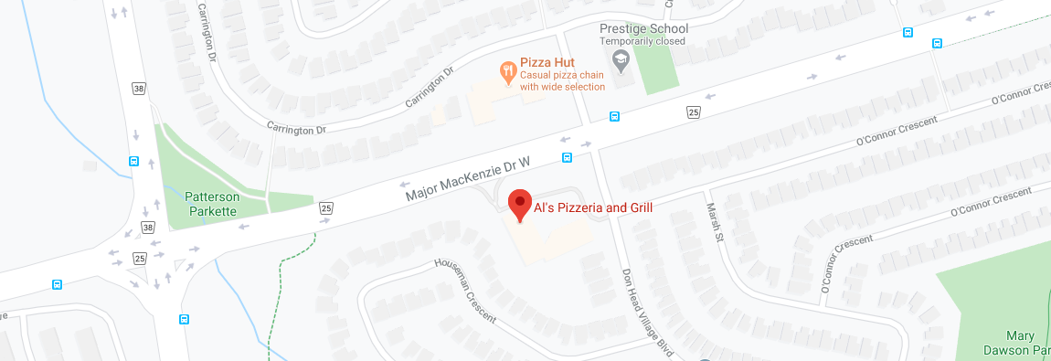 Al's Pizzeria and Grill