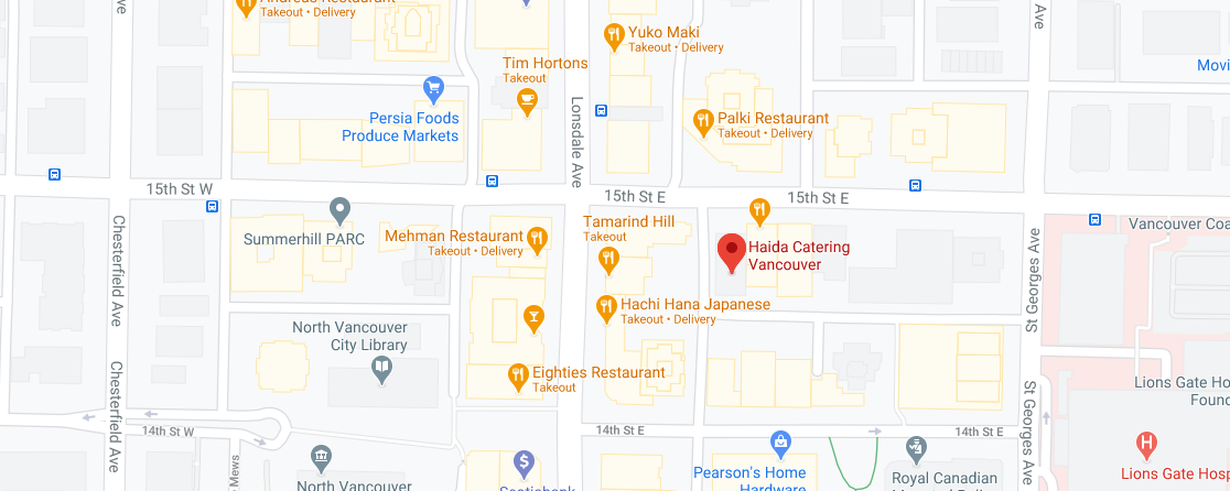 Haida Catering (offering delivery services to West Vancouver)