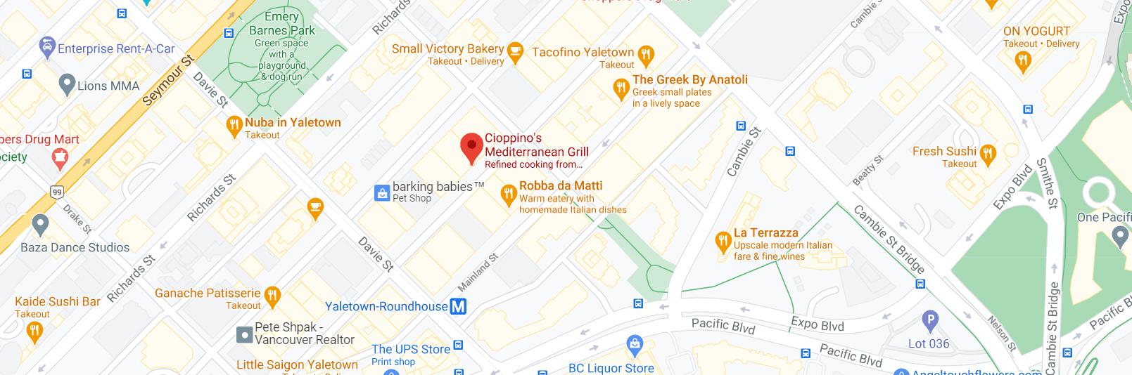 CinCin Ristorante + Bar
