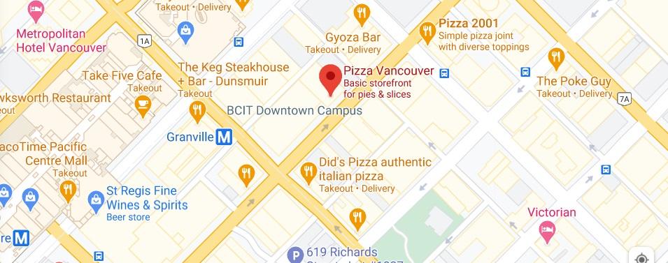 Pizza Vancouver
