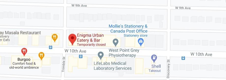 Enigma Urban Eatery & Bar