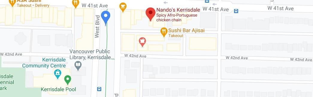 Nando's Kerrisdale