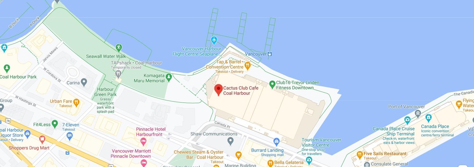 Cactus Club Cafe Coal Harbour