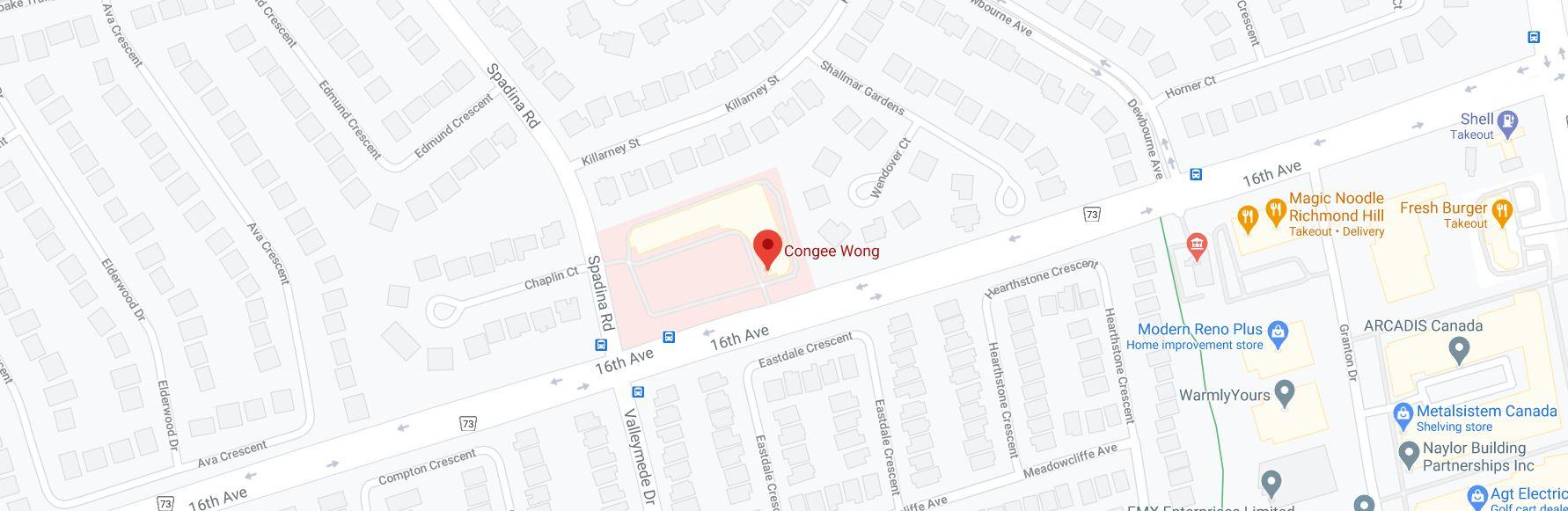 Congee Wong Richmond Hill