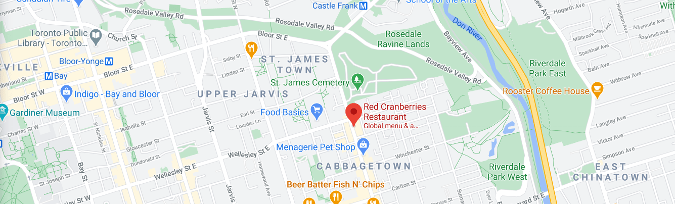 Red Cranberries Restaurant