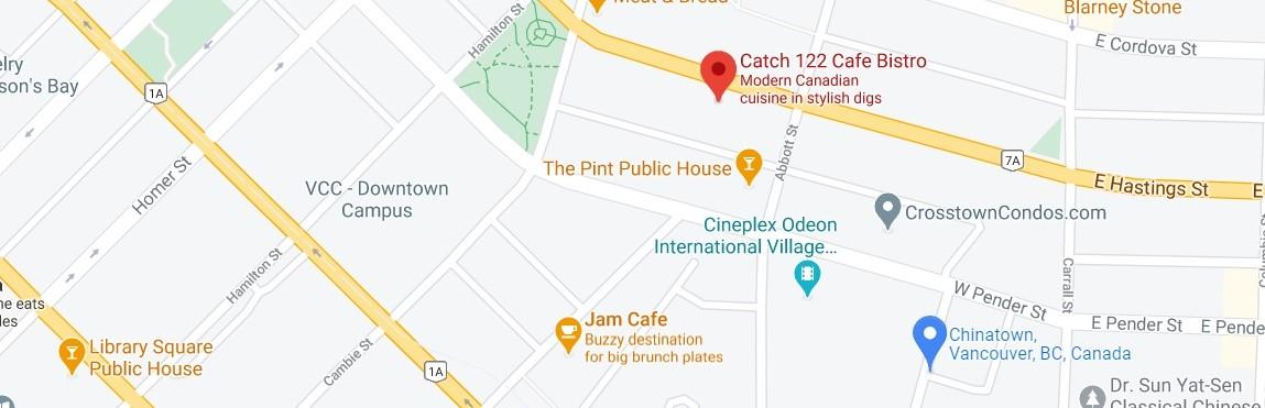 Catch 122 Cafe Bistro