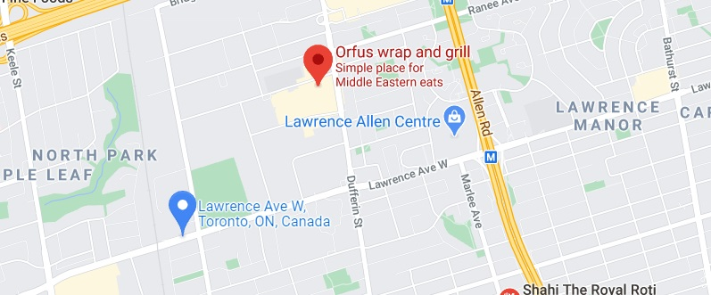 Orfus wrap and grill