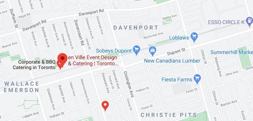 en Ville Event Design & Catering
