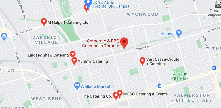 Corporate & BBQ Catering in Toronto