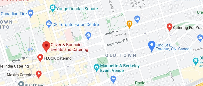 Oliver & Bonacini Events and Catering