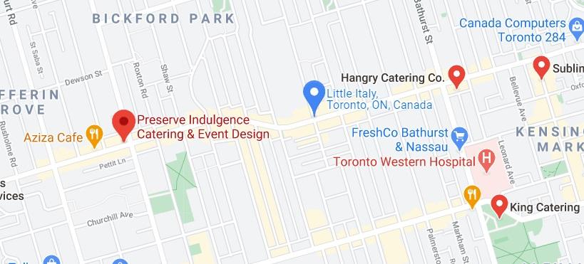 Preserve Indulgence Catering & Event Design