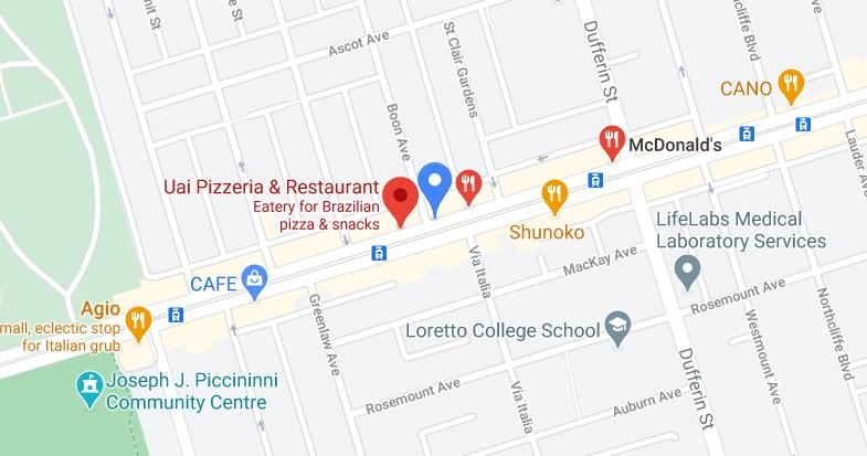 Uai Pizzeria & Restaurant
