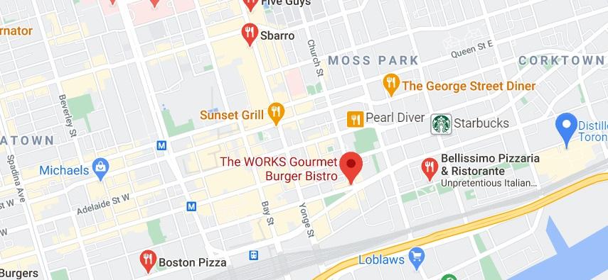 The WORKS Gourmet Burger Bistro