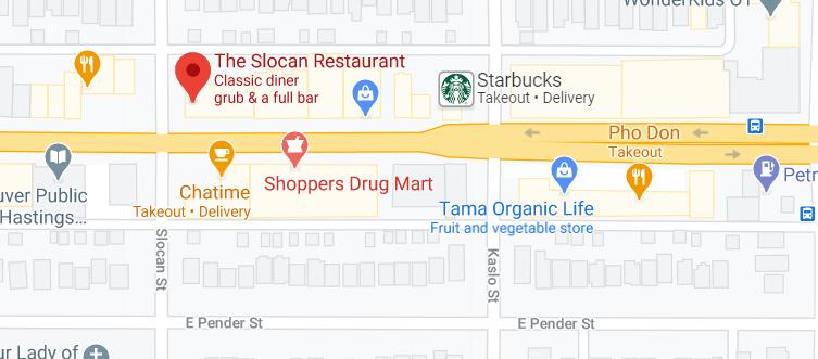 The Slocan Restaurant
