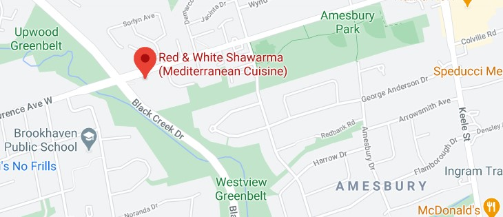 Red & White Shawarma