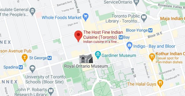 The Host Fine Indian Cuisine