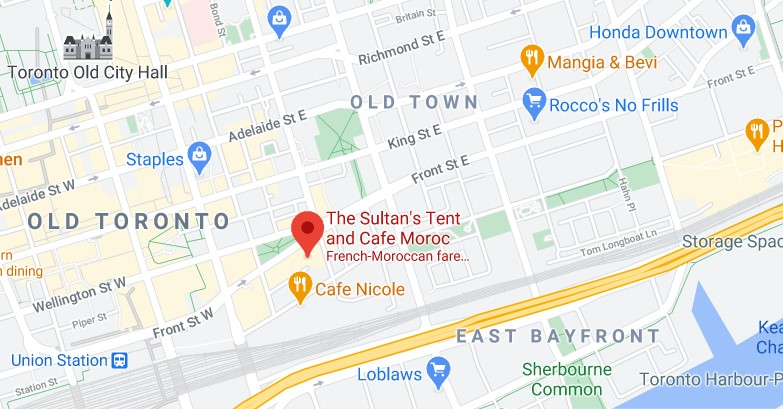 The Sultan's Tent and Cafe Moroc