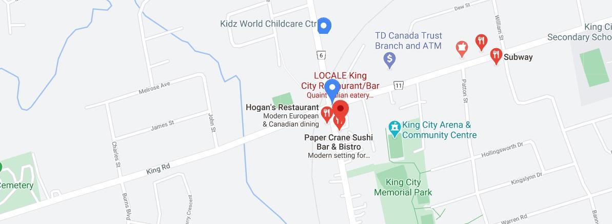LOCALE King City Restaurant/Bar