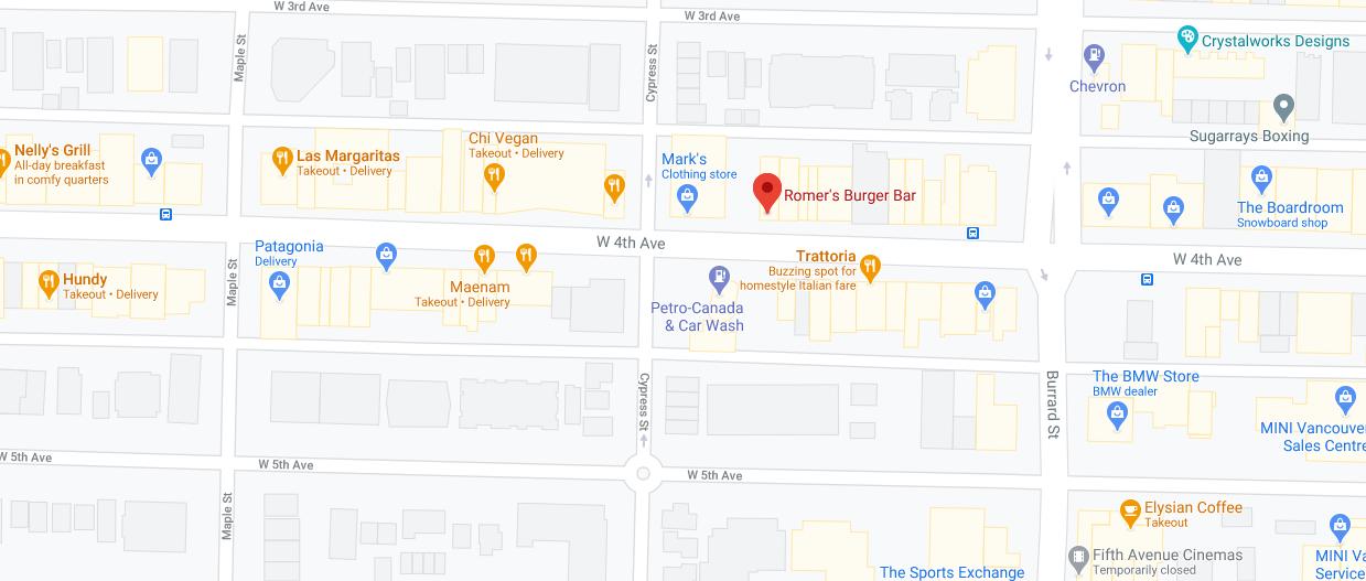 Romer's Burger Bar