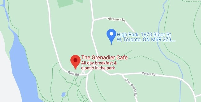 The Grenadier Cafe